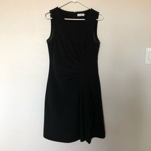Flattering Black Calvin Klein Dress